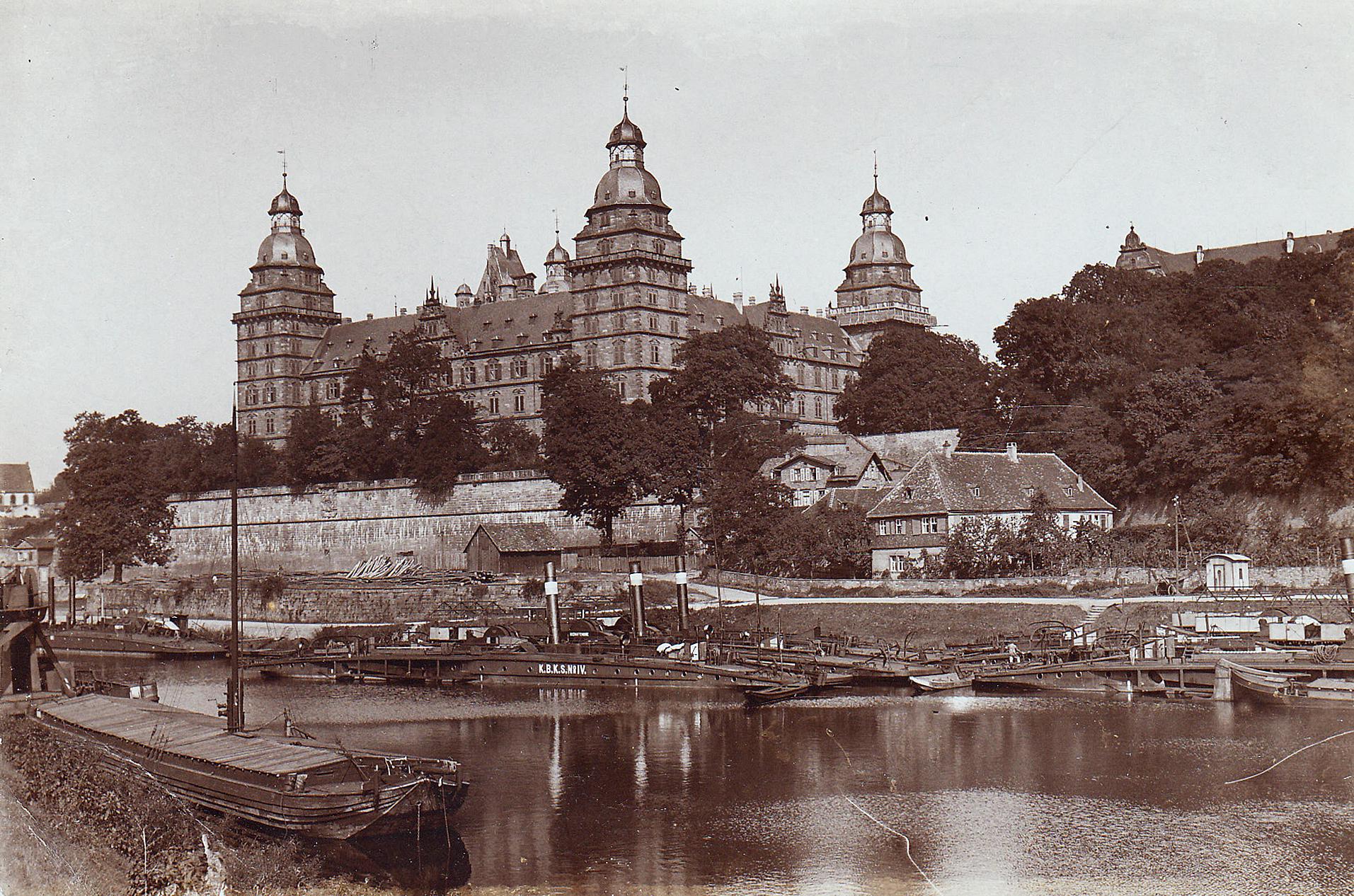 © Fotografie, 1916. Stadt- und Stiftsarchiv Aschaffenburg, Fotosammlung