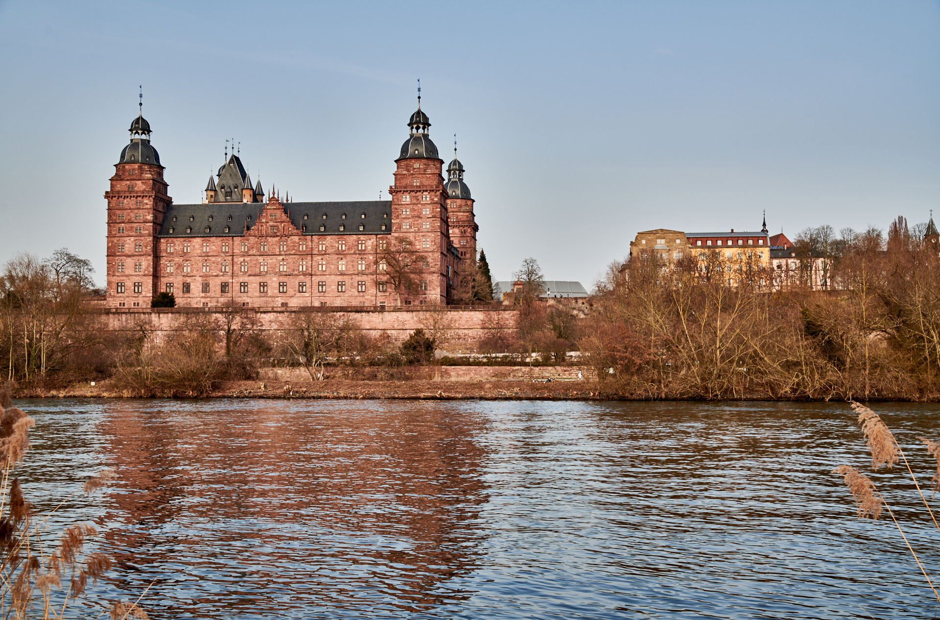 Blick vom Volksfestplatz zum Schloss über die neue, große Sichtschneise ©Thomas Göttemann
